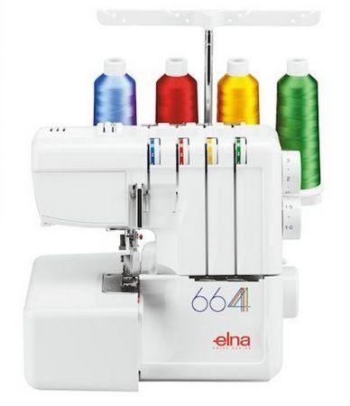 Elna Overlock 664 - nur für kurze Zeit - zum Eintauschpreis