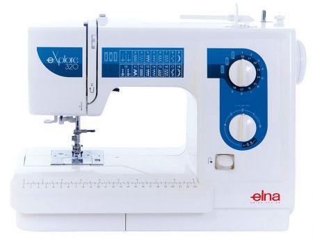 Elna eXplore 320- jetzt für kurze Zeit zum Eintauschpreis -