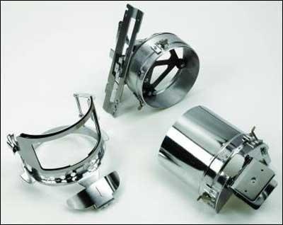 Kappenrahmen 3-er Set 130mm x 60mm für PR Stickmaschinen