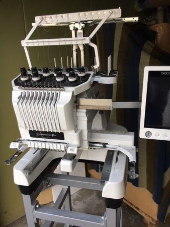 Brother Stickmaschine PR1000e gebraucht in Topzustand