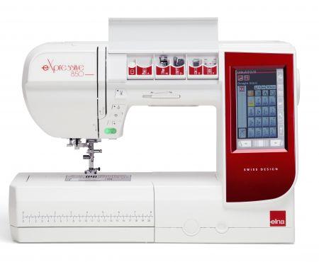 Elna Nähmaschine eXpressive 850 jetzt zum Eintauschpreis