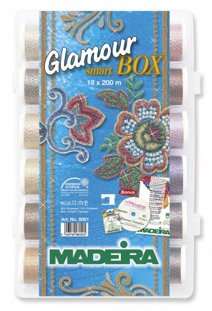 Madeira Glamour Smartbox incl. CD mit 42 Stickmotiven