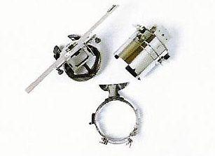 Kappenrahmen 3-er Set, 360mm x 60mm für PR Stickmaschinen