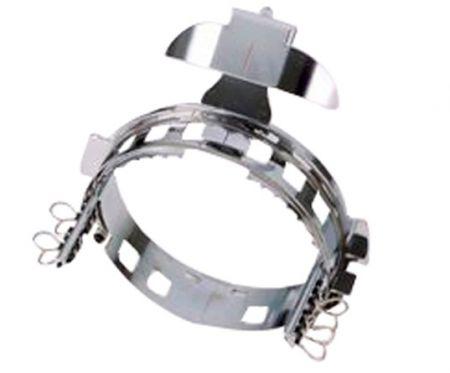 Kappenrahmen einzeln 130mm x 60mm für PR Stickmaschinen